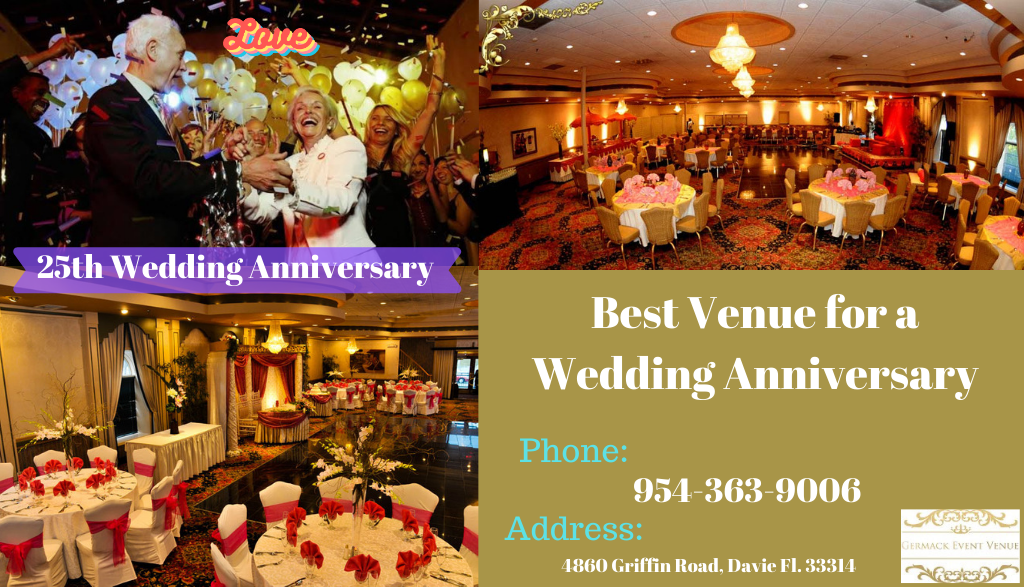 best venue for a wedding anniversary
