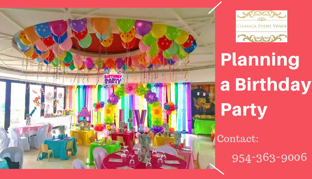 best place for a birthday party in Davie, FL