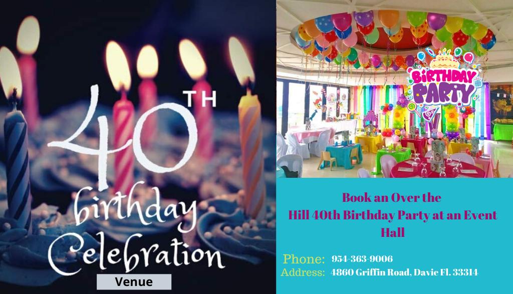 Birthday Party Venues in Davie