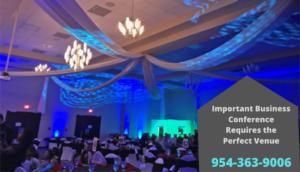banquet hall in Davie