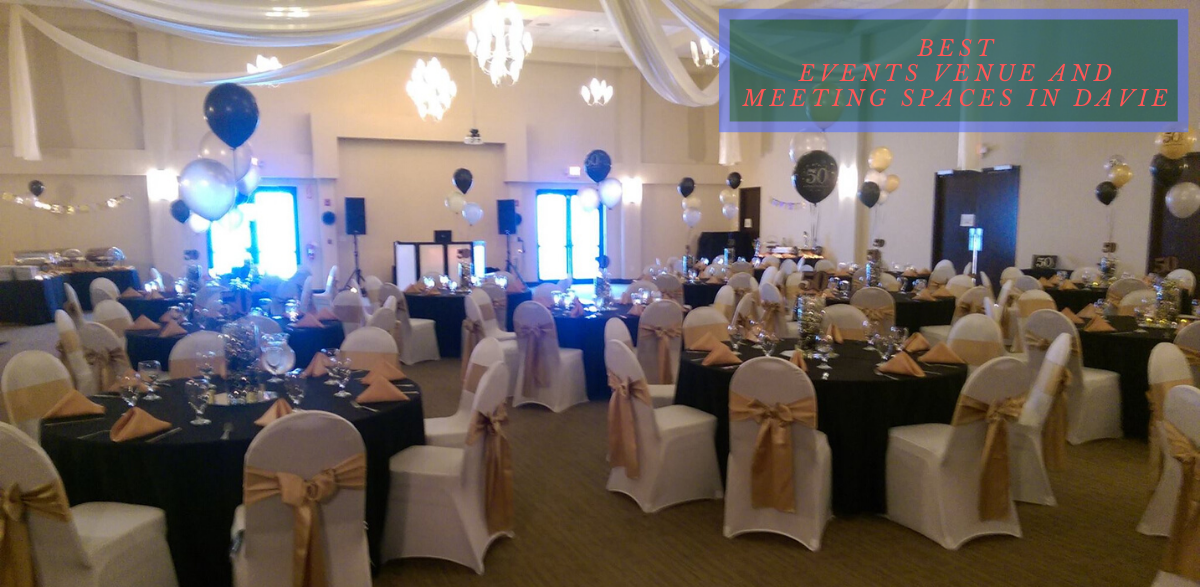 best events venue and meeting spaces in Davie
